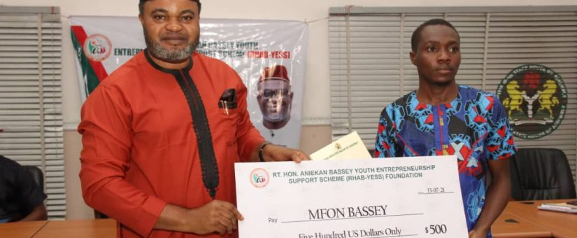 SME DEVELOPMENT: RHAB-YESS LIFTS YOUNG AKWA IBOM ENTREPRENEURS